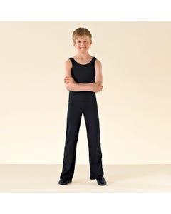 1st Position - Pantalón de Jazz de algodón (negro)
