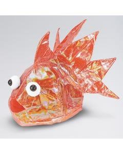 Sombrero de pez naranja
