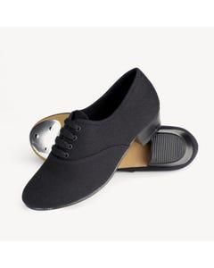 1st Position - Zapatos de claqué estilo Oxford de lona L/H