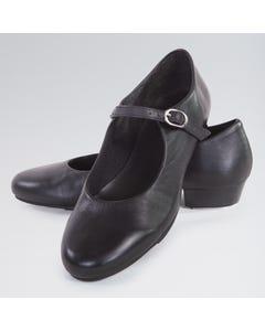 1st Position Zapatos de Claqué de Piel con Cierre de Hebilla