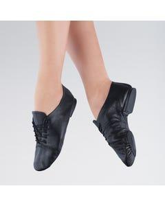 1st Position - Zapatos de Jazz con Suela Dividida