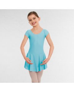 1st Position Maddy Skirted Cap Sleeve Leotard (Matt Nylon)