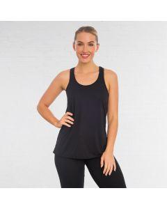 Bella - Camiseta Flowy de tirantes con espalda de nadador