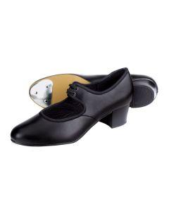1st Position - Zapatos de claqué de poliuretano con tacón cubano