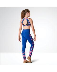 Kaia Leggings con Panel en Contraste