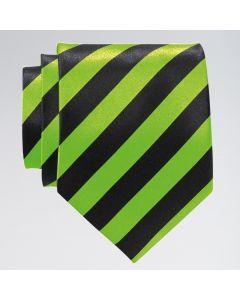 Corbata a rayas colores fosforitos