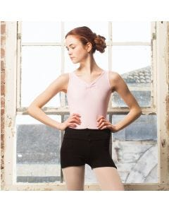 Intermezzo Medium Knit Roll Top Shorts (Acrylic)