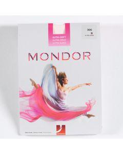 Mondor - Medias Rosa de Ballet Ultrasuaves con Costura
