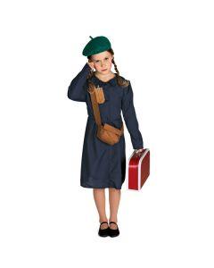 Disfraz de refugiada para niña