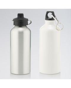 Botella de Agua de 600ml con 2 Tapones