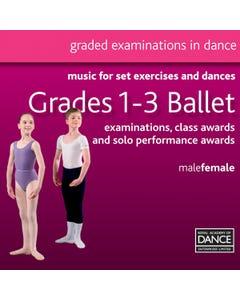 CD Grados 1-3 de Ballet RAD