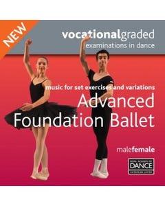 Advanced Foundation Male/Female Syllabus CD