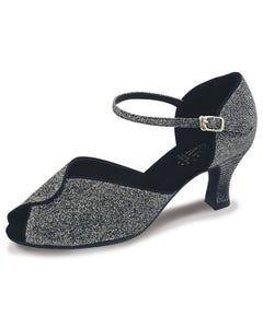 Roch Valley Sylvia Zapato de Baile de Salón de Señora Brocado con Tira en el Tobillo  y Tacón de 5.5 cm