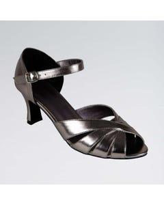 Grace Zapatos de Baile de Salón Metalizados con Tira en el Tobillo