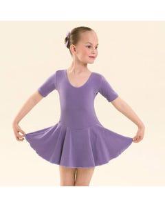 UKA - Maillot de ballet y claqué con falda niveles Preliminary a grado 3