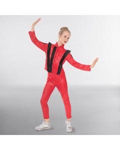 Disfraz del Rey del Pop (rojo)
