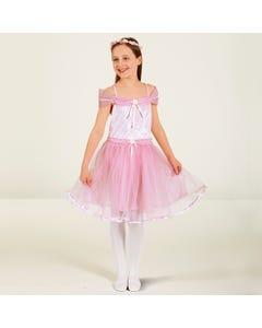 Vestido rosa de princesa