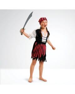 Disfraz de chica pirata (talla niño)
